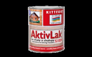 AktivLak® S1009 na chaty achalupy