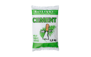 Cement biely