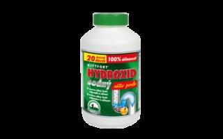 Hydroxid sodný – perle