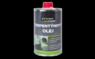Terpentýnový olej