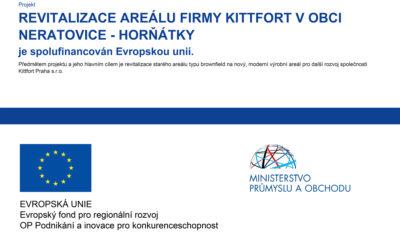 Projekt revitalizace areálu firmy Kittfort v obci Neratovice – Horňátky