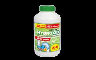 Hydroxid sodný – perle ALU