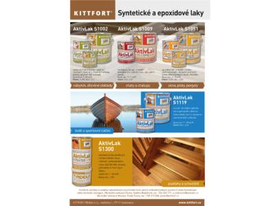 AktivLaky – Syntetické a epoxidové laky