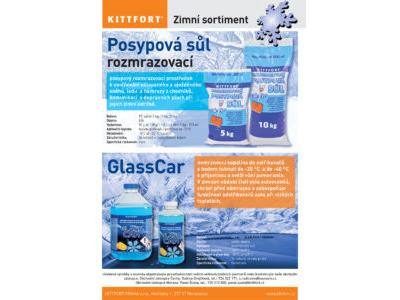 Posypová sůl, Glasscar