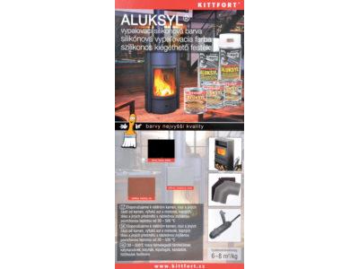 Aluksyl® vypalovací silikonová žáruvzdorná barva